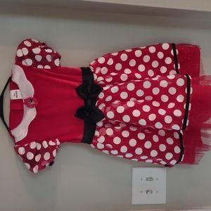 DISNEY JUNIOR dress small 4 to 6 nwot